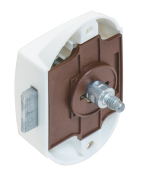 Push Button Lock, with Push Button Locking, Backset 25 mm