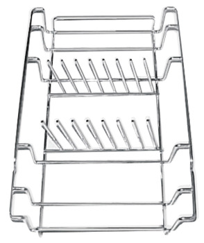 Rack, Chrome Plate, for 7 Plates, Smeg