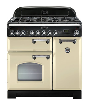 Range Cooker, Electric Ceramic 900 mm, Rangemaster Classic Deluxe 90