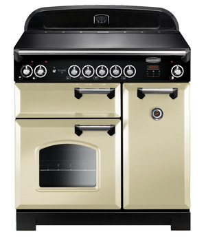 Range Cooker, Electric Induction 900 mm, Rangemaster Classic 90