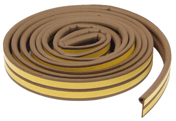 Raven Draught Seal, P Strip, for Door and Window Frames
