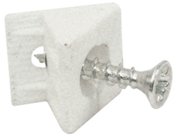 Rear Panel Connector, Plastic, Screw Fixing