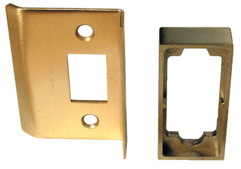 Rebate Set, for Heavy Duty Tubular Mortice Latch, Mild Steel/Aluminium