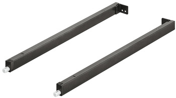 Rectangular Rail Set, for MX Drawer System