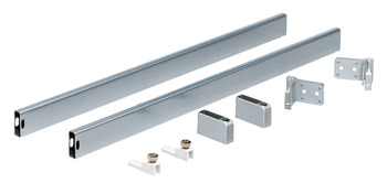 Rectangular Railing Set, for use with Nova Pro Deluxe Standard Drawers
