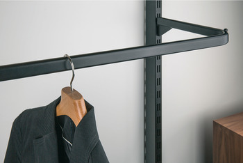 Removable Display Rail, Ø 7-9 mm, Length 150-400 mm, Shoptec Shopfitting System