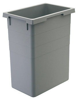 Replacement Inner Bin, Capacity 38 Litre, for Euro-Cargo Waste Bins