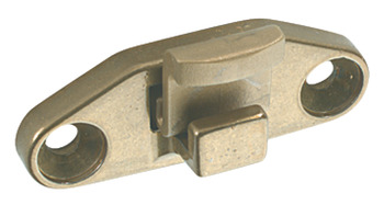 Rest, Non-Locking, for use with Casement Stay, Zinc Alloy
