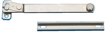 Restrictor, Concealed Releasable, for Side or Top Hung Windows, Stainless Steel and Zinc Alloy