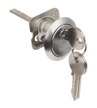 Rim Cylinder, Key Only, Brass