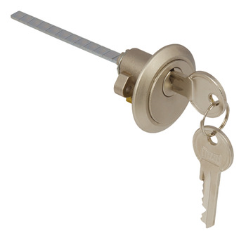 Rim Cylinder, Key Only Operation, Anti-Drilling Protection, Brass