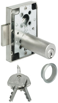 Rim Lock, with Ø 18 mm Extended Cylinder, Backset 25 mm