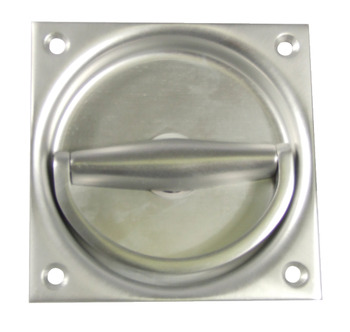 Ring Handle, Flush, to Operate, Grade 304 Stainless Steel