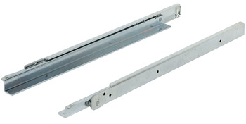 Roller Drawer Runners, Single Extension, Heavy Duty