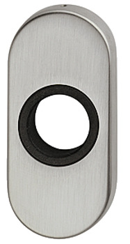Rose for Lever Handles, Oval, Grade 304 Stainless Steel, FSB 1758