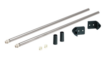 Round Gallery Railing Set, for use with Nova Pro Deluxe Standard Drawer