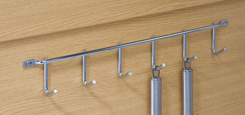 Row of Hooks, for Hanging Utensils or Cups