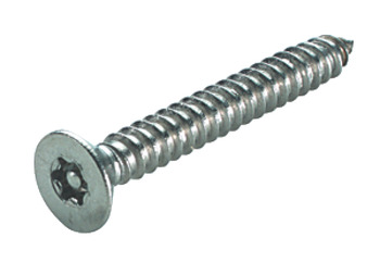 Security Screw, Countersunk, 6-Lobe/Resistorex