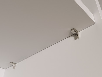 Shelf Support, Plug in, for Ø 5 mm Hole, for Glass or Wooden Shelves, K Line