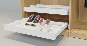 Shoe Rack, for Pull Out Frame, Häfele Dresscode
