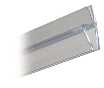 Shower Seal, Door Jamb Profile for 180° Applications, Length 2010 mm