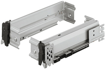 Side Component with Roller Runners, Variant-S + Filing Frames