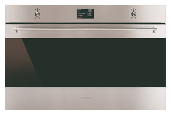 Single Oven, Multifunction Pyrolitic, 12 Functions, 900 mm, Smeg Classic