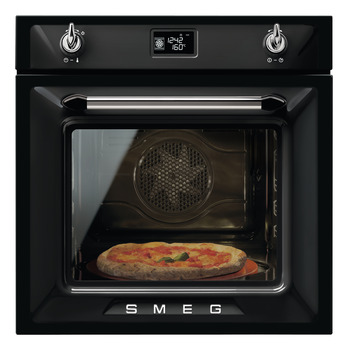 Single Oven, Multifunction Pyrolitic, with Soft Close Door, 600 mm, Smeg Victoria