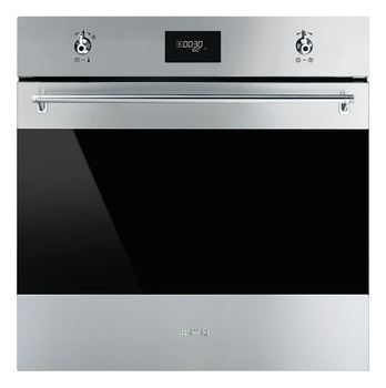 Single Oven, Multifunction, Pyrolytic, Finger Friendly, 11 Functions, 600 mm, Smeg Classic