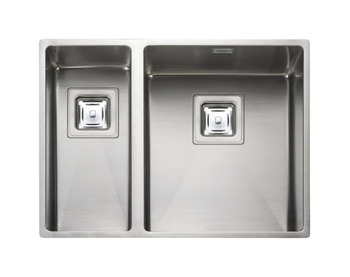 Sink, 1.5 Bowl, Rangemaster Atlantic Kube, KUB3418