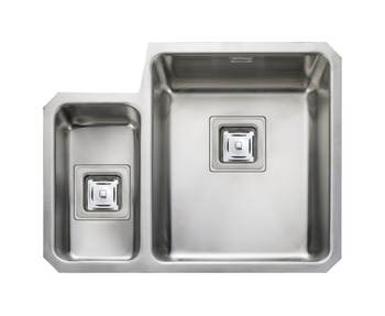 Sink, 1.5 Bowl, Rangemaster Atlantic Quad QUB3416