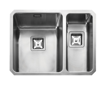 Sink, 1.5 Bowl, Rangemaster Atlantic Quad QUB3418