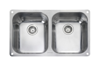 Sink, Double Bowl, Rangemaster Atlantic Classic UB3535