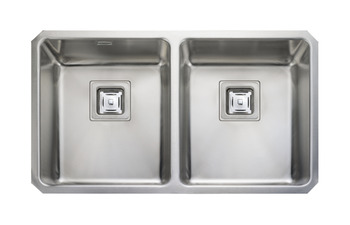 Sink, Double Bowl, Rangemaster Atlantic Quad QU3434