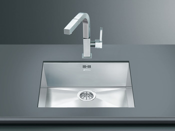 Sink, Single Bowl, Smeg Quadra VSTQ50-2