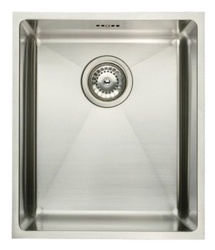 Sink, Stainless Steel Single Bowl 370 x 430 mm, Häfele Ashton