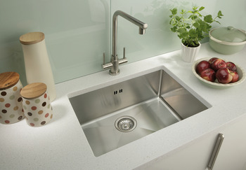 Sink, Undermount, with Single Bowl, 192 x 330 mm