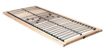 Slatted Frame, KF Sandbasic, with Adjustable Head and Foot Sections