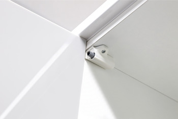 Soft Close, for Hinged Doors, for 110° Full Overlay Hinge, Plastic