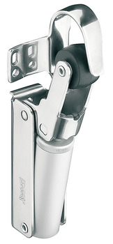 Soft Closing Mechanism, for Interior and Exterior Doors, Stainless Steel or Aluminium