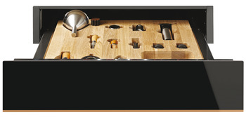 Sommelier Drawer, Built-in, 150 mm, Smeg Dolce Stil Novo