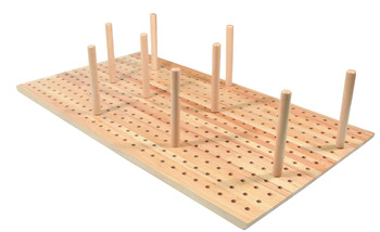 Spare Peg Set, for Plate Stack Insert