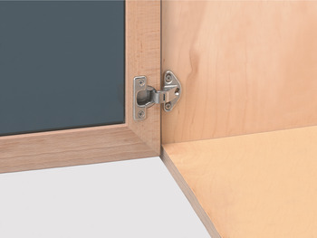 Specialist Hinge, 92° Mini, Sprung, for Overlay Doors