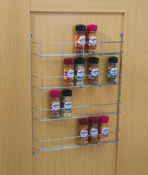 Spice And Packet Rack Four Tier Linear Wire Depth 55 Mm Häfele U K Shop