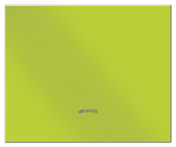 Splashback, Lime Green Glass 600-900 mm, Smeg