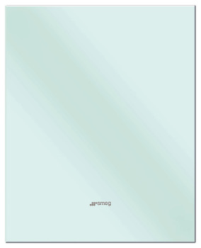 Splashback, Pastel Blue Glass 600-900 mm, Smeg