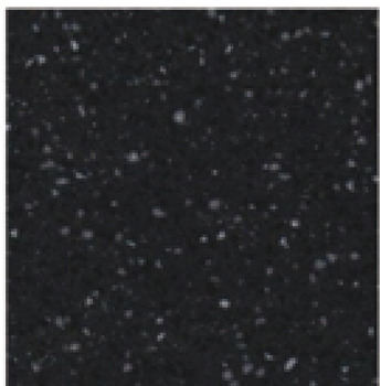 Splashback, Solid Surface, Black Star, Apollo® Magna