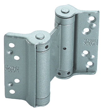 Spring Hinge, Double Action, 75 x 66 mm, Steel