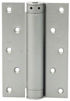 Spring Hinge, Single Action, 125 x 88 mm, Stainless Steel