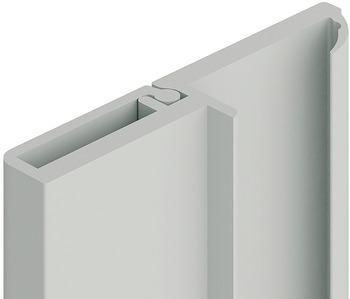 Stop strip, Concealed screws, 32 x 6 mm